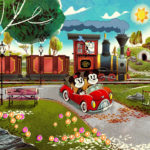 Panasonic Announces Collaboration with Disney for Mickey & Minnie's Runaway Railway