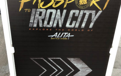 "Review: ""Passport to Iron City"" Immersive Experience Invites Fans to Explore the World of Fox's ""Alita: Battle Angel"""