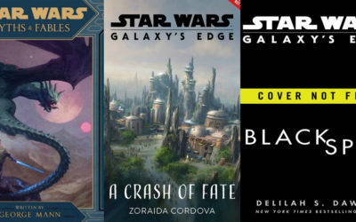 Star Wars Announces Six New Titles to Tie In to Galaxy's Edge