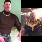 Thanos Mocks The Rock in Josh Brolin's 10 Year Challenge Post on Instagram