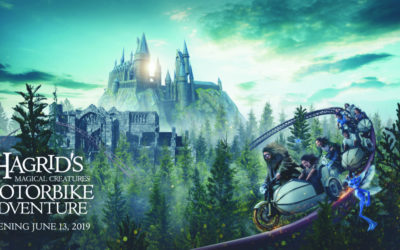 Hagrid's Magical Creatures Motorbike Adventure to Open This June at Universal Orlando