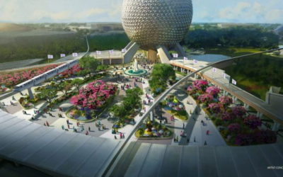 New Play Pavilion, New Park Entrance, and More Announced for Epcot