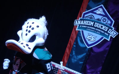 Video: Anaheim Ducks Day Celebrates 25 Years of The Mighty Ducks at Disney California Adventure