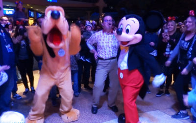 "Video: Boogie Down with Mickey and Friends in the ""Get Your Ears On"" Dance Party at Disneyland"