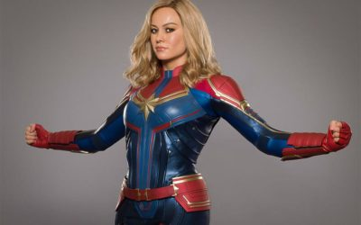 Brie Larson as Captain Marvel Wax Figure Arrives at Madame Tussauds New York
