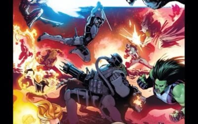 Comic Review - Avengers # 17