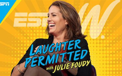 "ESPN Launches ""Laughter Permitted with Julie Foudy"" Podcast"