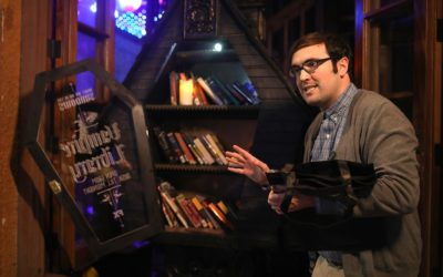 "FX's ""What We Do in the Shadows"" Hosts Popup Libraries at SXSW"