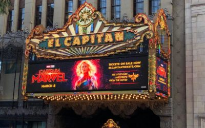 """Hollywood's El Capitan Hosts """"Captain Marvel"""" Fans in Opening Night Event"""