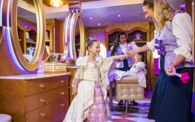 New Rapunzel Makeover Debuts at Bibbidi Bobbidi Boutique Aboard Disney Cruise Line Ships