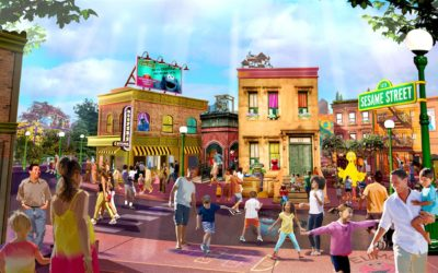 Sesame Street at SeaWorld Orlando to Open March 27