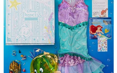 Turn Your Princess into Ariel with the April Disney Princess Enchanted Collection Subscription Box