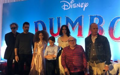"Video: Disney's ""Dumbo"" Cast and Director Tim Burton Discuss Live-Action Reimagining at Press Conference"