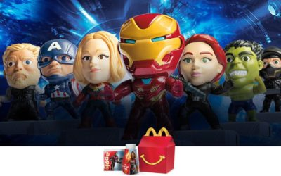 """Avengers: Endgame"" Happy Meal Toys Arrive at McDonald's"