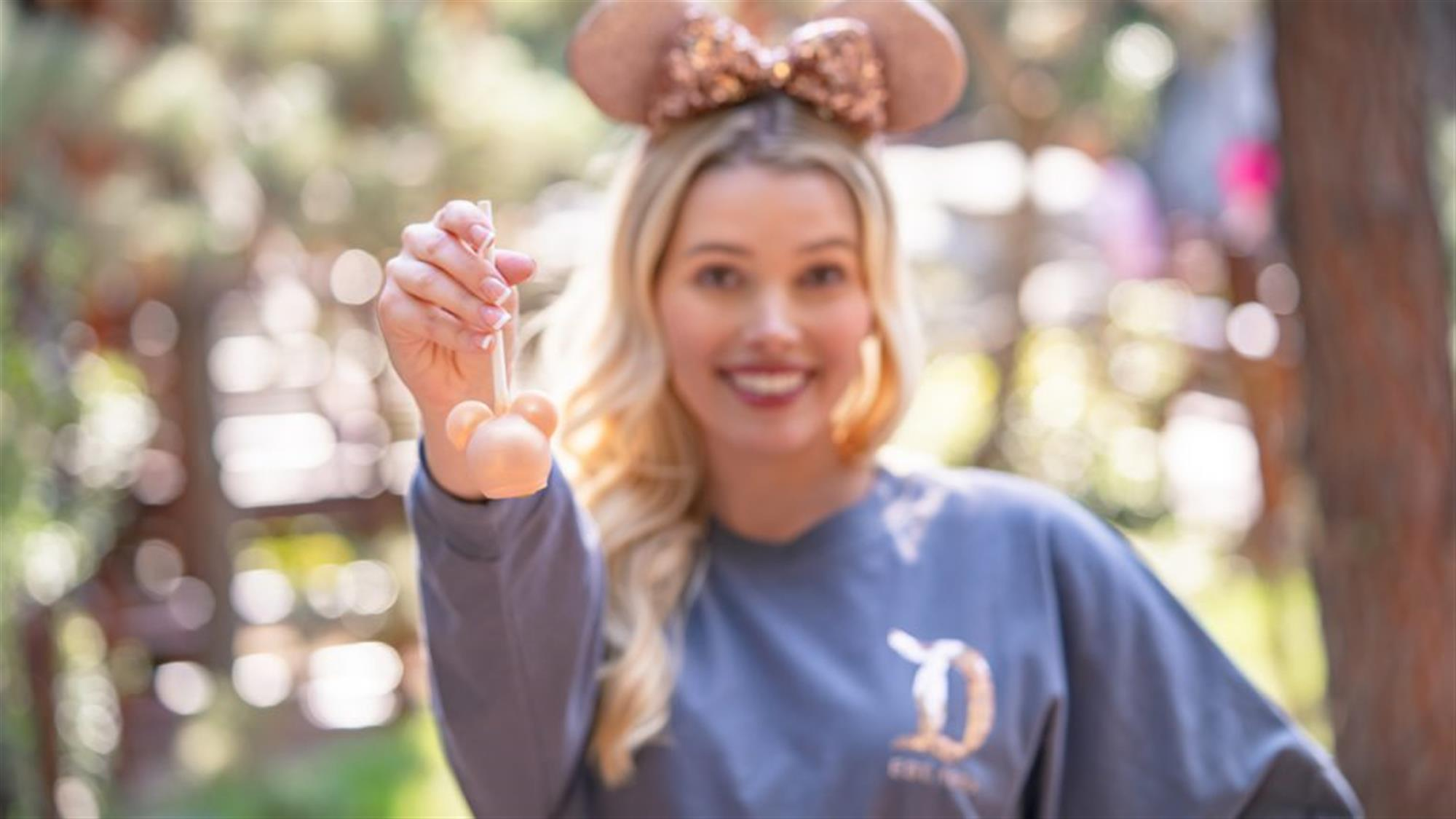 Briar Rose Gold Cake Pop at Disneyland Resort