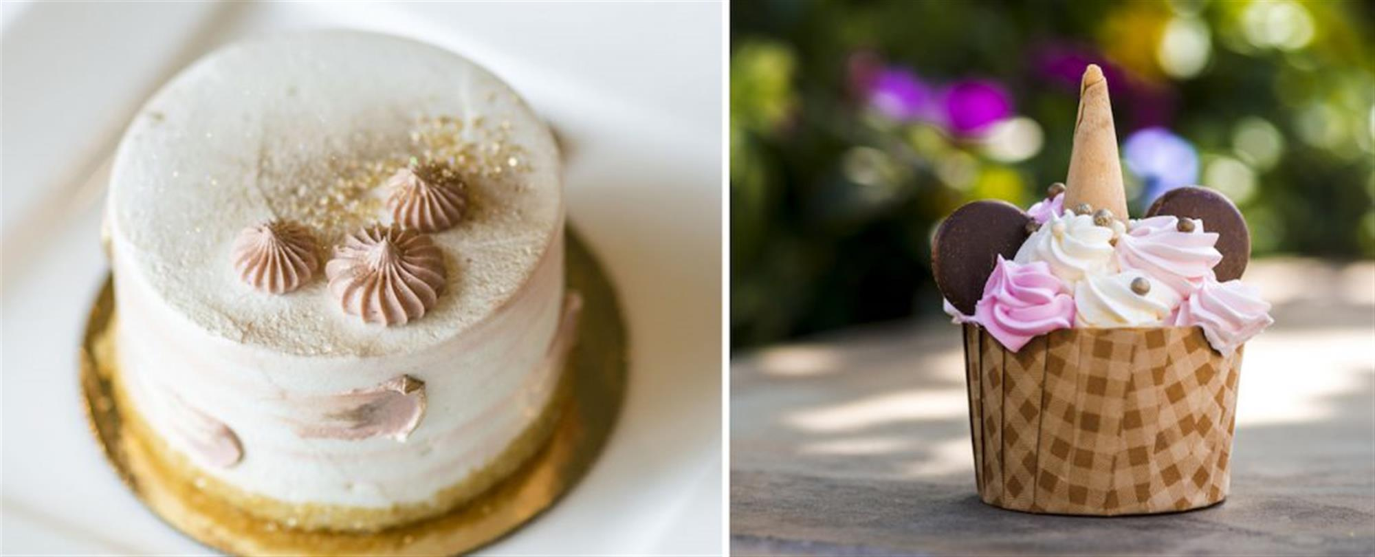 Briar Rose Gold Desserts at Walt Disney World Resort