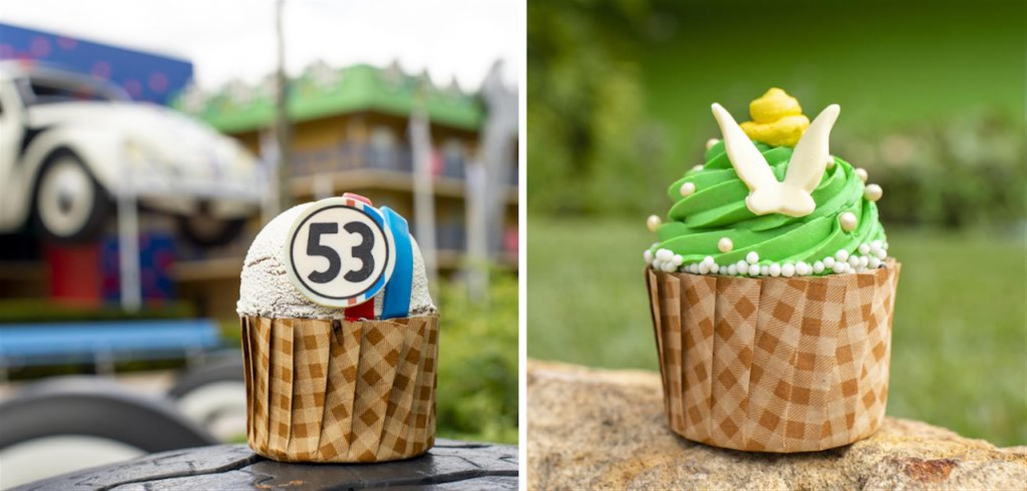 Themed Cupcakes at Disney's All-Star Music Resort