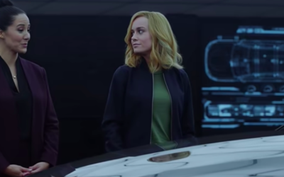 Captain Marvel Gets All Caught Up in New Audi Ad