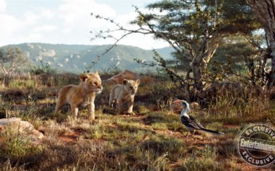 "Entertainment Weekly Shares New Images from ""The Lion King"""