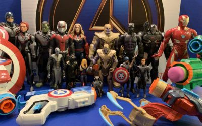 "Toy Review: ""Avengers: Endgame"" by Hasbro (Marvel Legends, Titan Heroes, Nerf)"