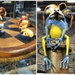 Kowakian Monkey-Lizards, Dejarik Board Game, and More Star Wars: Galaxy's Edge Merchandise on Display at Star Wars Celebration Chicago