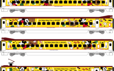 Mickey-Themed Bullet Train in the Works in Japan