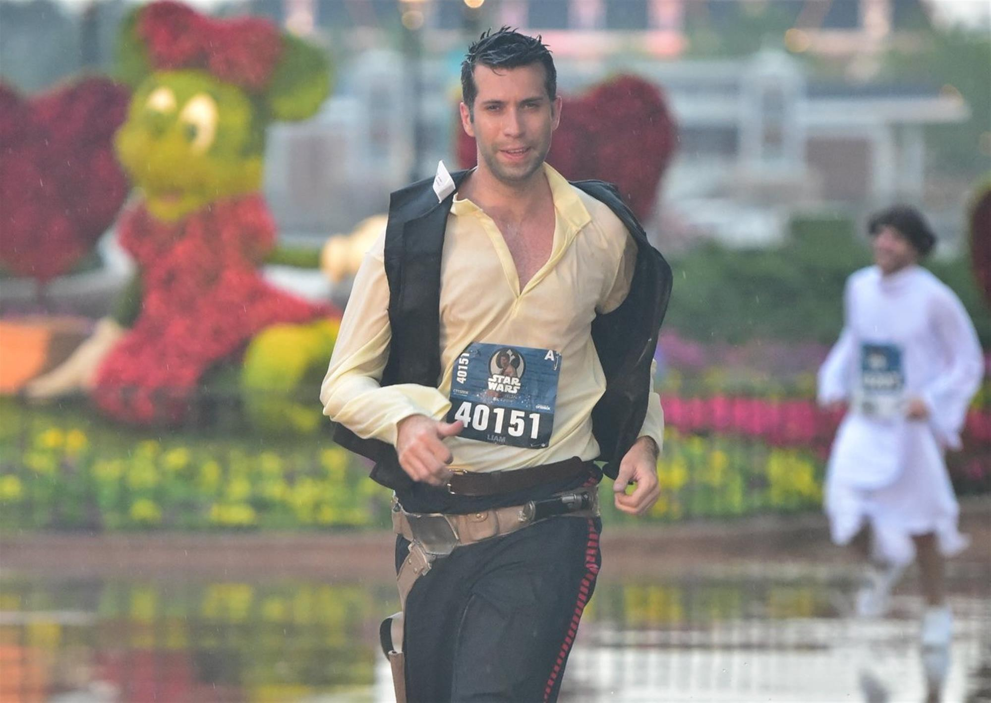 runDisney Star Wars 5K Plagued by Thunderstorms This Morning
