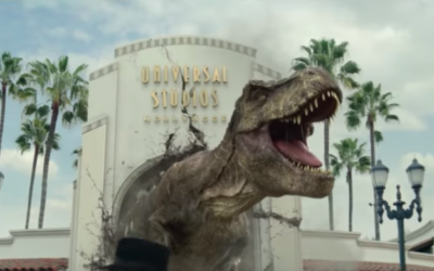 "Universal Studio Hollywood Launches ""Jurassic World - The Ride"" Ad Campaign"