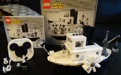 Video Review: LEGO Ideas Steamboat Willie Set Commemorates 90 Years of Mickey and Minnie