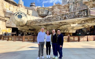 Bob Iger and Famous Friends Share Photos From Star Wars:Galaxy's Edge