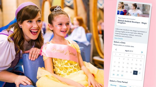 Online Reservations Now Available for Magical Experiences at Domestic Disney Parks