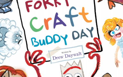 "Children's Book Review: ""Forky in Craft Buddy Day"" (Toy Story 4)"