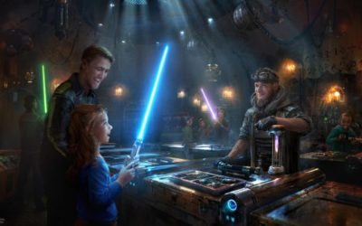 Guests Can Handbuild Their Own Lightsaber at Savi's Workshop at Star Wars: Galaxy's Edge