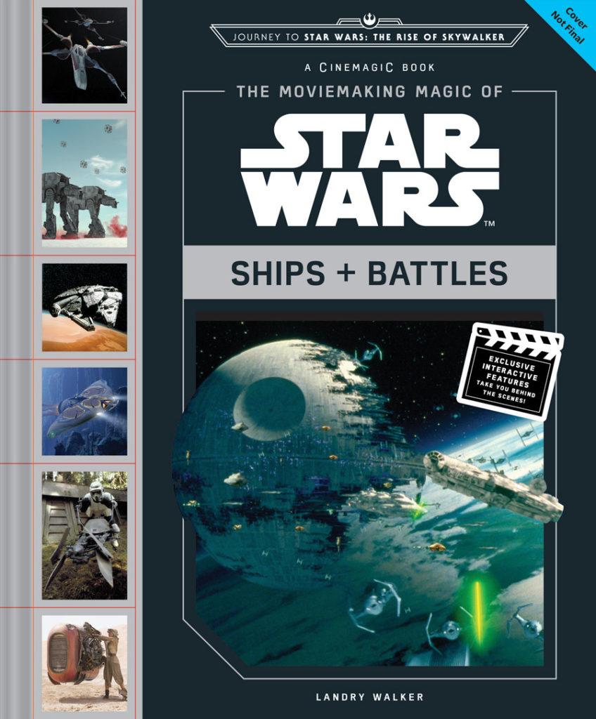 The Moviemaking Magic of Star Wars Ships and Battles cover