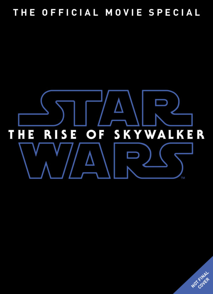 Star Wars: The Rise of Skywalker Official Movie Special cover