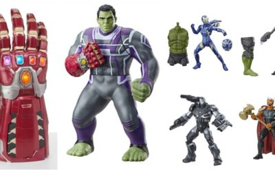 Hasbro Reveals Next Wave of Avengers: Endgame Figures and More