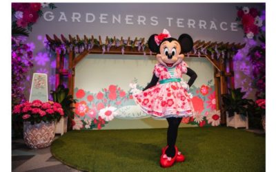 Minnie's Garden Party Coming to Epcot International Flower & Garden Festival in Celebration of Spring