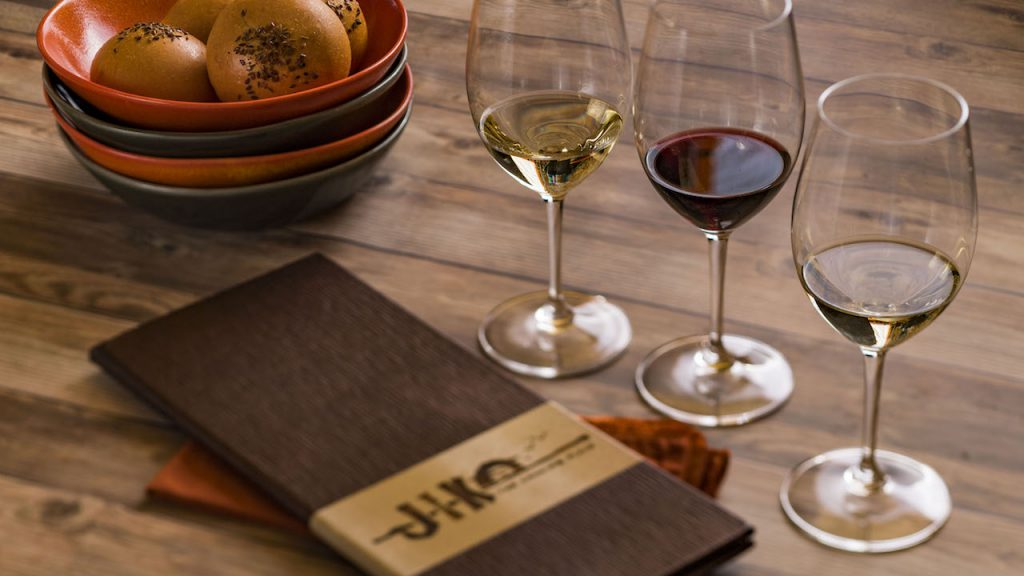 Wine and Bread from The Lion King-themed Menu Jiko – The Cooking Place at Disney's Animal Kingdom Lodge