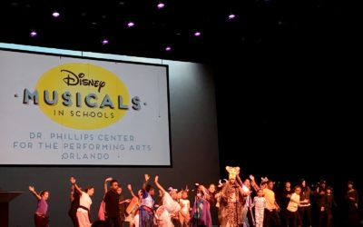 Orlando Area Elementary Students Perform at Walt Disney Theater for Disney Musicals in Schools Program