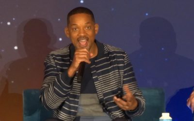 "Q&A - Will Smith Discusses Playing Genie in His First Disney Movie, ""Aladdin"""