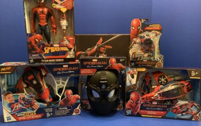 "Toy Review: ""Spider Man; Far From Home"" from Hasbro"