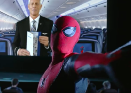 Spider-Man Takes to the Skies in New United Airlines Safety Video