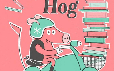 "Children's Book Review: ""The Book Hog"" by Greg Pizzoli"