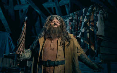 Universal Orlando Reveals Hagrid Animatronic for Hagrid's Magical Creatures Motorbike Adventure
