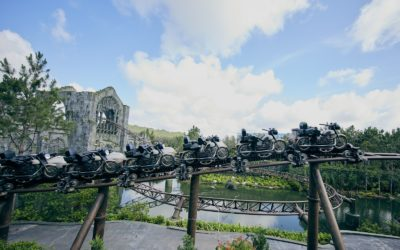 Universal Orlando Shares New Details, Sneak Peek of Hagrid's Magical Creatures Motorbike Adventure