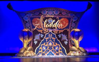"""Video: Disney's """"Aladdin"""" Opens at El Capitan Theatre with Exclusive Photo Ops, Costume Displays, More"""