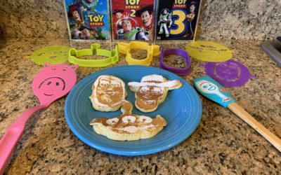 """Review: """"Toy Story 4"""" Pancake Molds from Pampered Chef"""