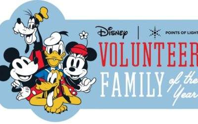 Disney and Points of Light Search for Volunteer Family of the Year