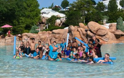 Disney's Blizzard Beach Hosts Biggest Florida Location for World's Largest Swimming Lesson