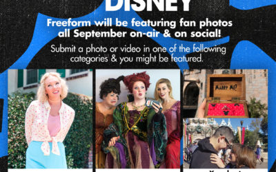 "Freeform to Celebrate ""30 Days of Disney,"" Invites Fans to Share Disney Photos and Videos"